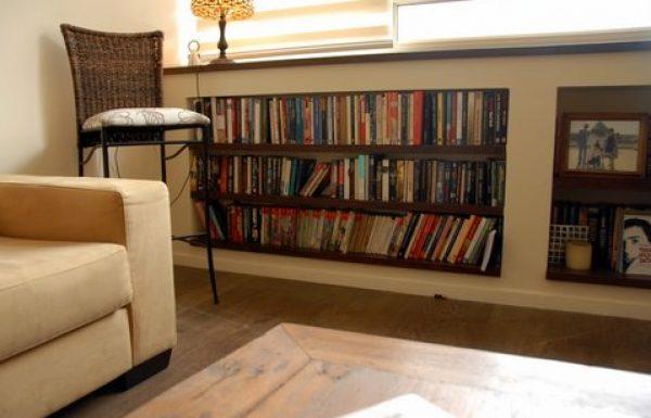 פתרונות חכמים לאחסון ספרים
