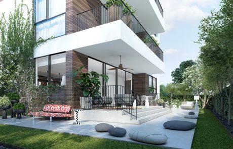 דירות גן עירוניות בתל אביב*: אחד התוצרים המוצלחים של תכנית הרובעים